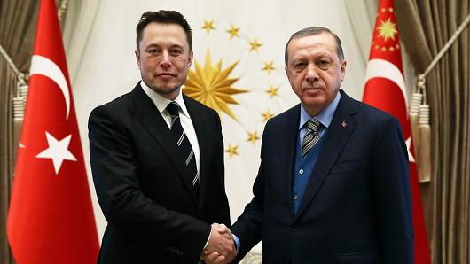 ELON MUSKS VISIT TO TURKEY
